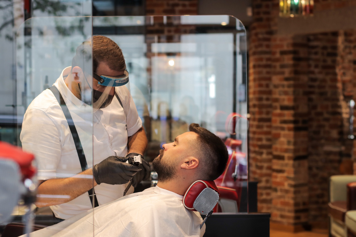 Ted's Barbers in London - Walk-ins are Back!