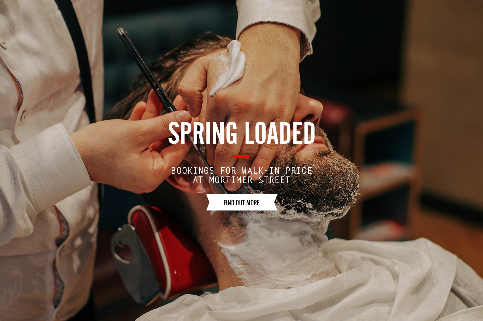 Spring Loaded - Booking For Walk-in Price At Mortimer Street