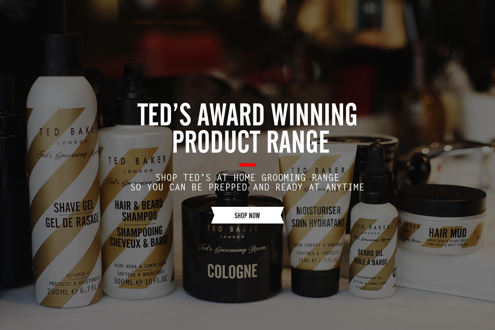 Ted's Award Winning Product Range